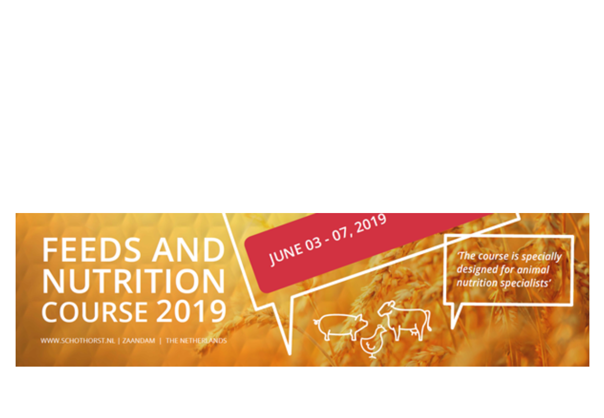 SFR announces 9th edition of the feeds & nutrition course